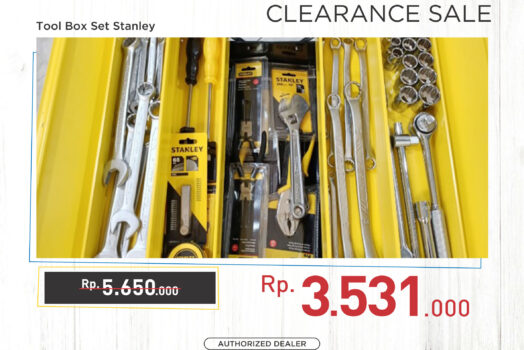 Stanley Tool Box Set (Heavy Duty) – [Promo]