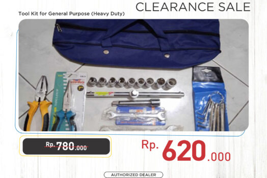 Tool Kit For General Multi Purpose (Heavy Duty) – [Promo]